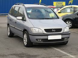 OPEL Zafira car technical data. Car specifications. Vehicle fuel ...