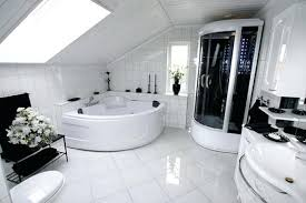 White Bathroom Remodel Ideas Delectable Outstanding Pictures Of White Tiled Bathrooms Bathroom Modern White