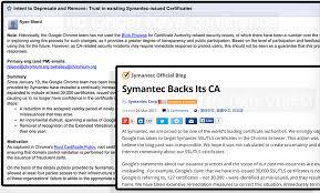 Google Outlines Plan To Reject Symantecs Digital Certificates