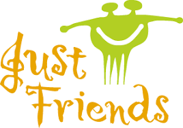 Just Friends logo design