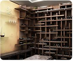 Cube Contemporary Wine Racking by Genuwine Cellars Custom Wine Cellars ...