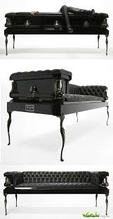 Coffin Couches Sofas Made From Recycled Caskets Put The Fun In Coffin Couch
