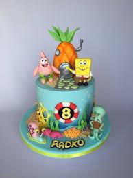 Spongebob Birthday Cake Abc Birthday Cakes