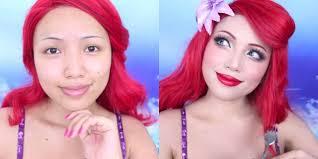 disney makeup tutorial you you love princesses or makeup ideas ariel makeup tutorial ariel hair tutorial ariel hair and makeup