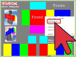 Roblox Shirt Templet How To Design Clothing In Roblox 6 Steps With Pictures