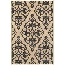 selene black 7 ft x 10 ft outdoor area rug