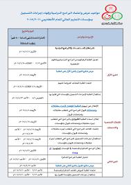 """مركز القبول الموحد sur Twitter : """"جدول مواعيد عرض وإعتماد البرامج الدراسية  وإنهاء إجراءات التسجيل بمؤسسات التعليم العالي 2016/2015  http://t.co/olM25YRgx8"""""""