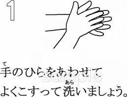 手洗い手順イラストなら小学校幼稚園向け保育園向けのかわいい無料