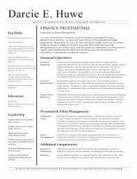 Financial Advisor Resume Template Inspiration Finance Entry Level Resume Samples Unique Financial Advisor Resume