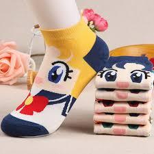 Дышащие хлопковые <b>носки</b>, <b>женские носки</b> с милым рисунком ...