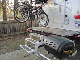 Bike Campers Bike Rack For Truck Camper Image Gallery Hcpr