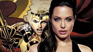 Angelina Jolie Talks Playing Thena in ...