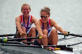 Katherine Copeland, Sophie Hosking - Katherine Copeland and Sophie Hosking  Photos - Olympics Day 8 - Rowing - Zimbio