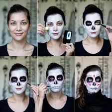 free skull face paint tutorial dia muertos skull face paint skull face and sugar skulls
