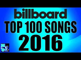 Top 100 Songs Top Charts Billboard Hot 100 Top 100 Singles Year End 2016