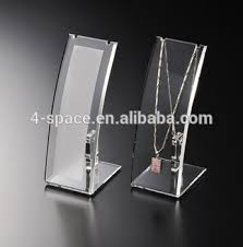 Jewelry Display Floor Stands Personality Necklace Display Stand Floor Standing Acrylic Jewelry 54