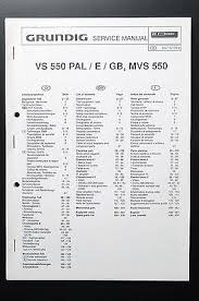 grundig vs 550 pal e gb mvs 550 original service manual wiring grundig vs 550 pal e gb mvs 550 original service manual wiring diagram