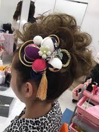 成人式のヘアスタイル②