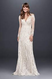 long sleeve wedding dresses gowns david s bridal