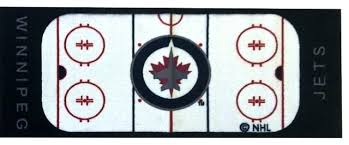 hockey rug jets runner logo rink floor accent contemporary hall and area fan mats round indoor hockey or area rug rink