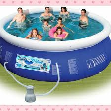 swimming pool for kids. Simple For BIG Inflatable Portable Swimming Frame Pool Adults U0026 Kids Home Furniture  On Carousell On For Kids S