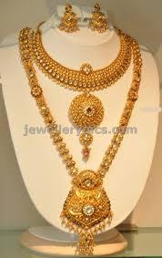 Gold New Model Necklace Design Khazana Gold Haram Long Necklace Designs Latest