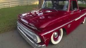 Bagged, Air Ride Chevy C10 Fleetside - YouTube