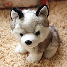 Online Shop 18 CM to 25 CM Simulation <b>Dog Plush Toy</b> Lovely ...