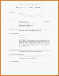 Resume Format For Job Resume Design Templates Inspirational Resume