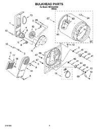 parts for roper redsq dryer com 03 bulkhead parts optional parts not included parts for roper dryer red4440sq0