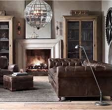 Traditional Industrial Living Room. Industrial Sawhorse Office. Industrial  Decor Ideas