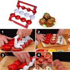 <b>1PC Meatballs</b> Fishballs <b>Mold</b> Creative Fish <b>Meat Balls</b> Maker ...