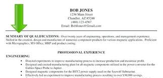 Example Resume Summary Beauteous Sample Power Statements For Resumes Example Of Resume Summary