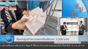 ล็อกกลุ่มแจกเงินเยียวยา 3,500 บาท หากเงินไม่พอส่งสัญญาณกู้เพิ่ม - YouTube