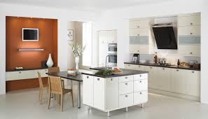 interior decorating top kitchen cabinets modern. Kitchen. White Wooden Kitchen Cabinet And Island With Gray Counter  Top Connected Black Interior Decorating Cabinets Modern