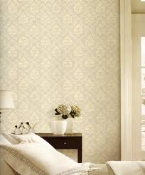 Small Picture 3d Wall Decor Malaysia New Fashion Nonwoven Wallpaper 3d Damask
