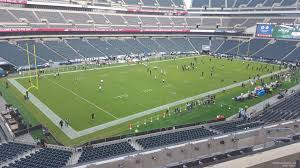 seat view for lincoln financial field section c35