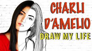 Charli D'Amelio( Tik Tok ⭐️) : Draw My Life - YouTube