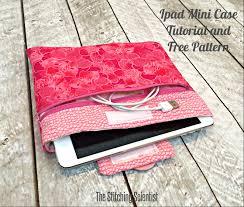 ipad mini case tutorial with free pattern
