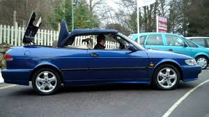 1999 SAAB 9-3 SE Turbo Automatic Convertible For Sale - YouTube