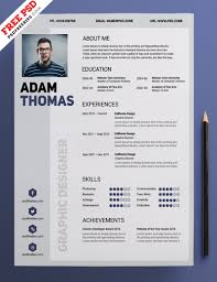 Free Resume Design Clean Resume Design Template Free PSD PSDFreebies 58