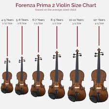 Violin Size Chart World Of Reference