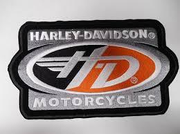 harley davidson emblem patch hd139