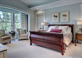 traditional master bedroom grey. This Master Bedroom Is Traditional Grey