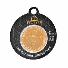 1 gr 22 ayar altın