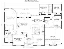 3 Bedroom Open Floor House Plans Creative Design New Decorating