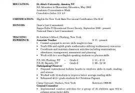 Infant Teacher Resume Job Description Assistant Sample Room Lead