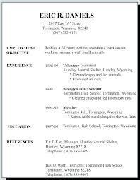 Part Time Job Cv Template Australian Resume Template For Part Time Job Jobs Near Me