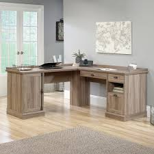 Sauder Barrister Lane L-Shaped Desk - The Sauder Barrister Lane L-Shaped  Desk