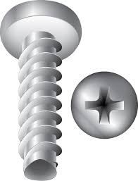 screw. Thread Forming Screws - Trilobular For Plastic Screw